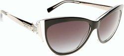 Michael Kors 57mm Women's Cateye Sunglasses - Caneel Black/Gray Lens