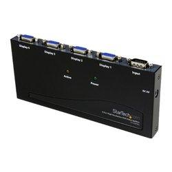 StarTech.com 4 Port High Resolution VGA Video Splitter - 350 MHz