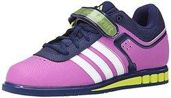 Adidas Women's Powerlift Trainer 2 - Pink/Yellow - Size: 5