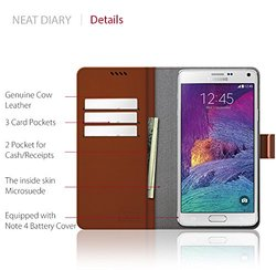 Araree Neat Diary Case for Galaxy Note 4 - Mesh Black