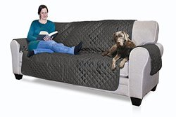 Reversible Water Resistant Furniture Protectors: Sofa/gray-mist