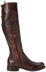 Bed Stu Women's Manchester2 Motorcycle Boot - Teak Rustic - Size: 9.5M US
