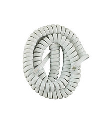 GE Coil Phone Cord - White - Size: 12 Foot (TL96176)