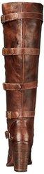 Bed Stu Women's Statute Motorcycle Boot - Teak Rustic - Size: 8.5 M US
