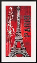 "Paris Vibe by Evangeline Taylor Framed Art Print 35"" H x 21"" W"
