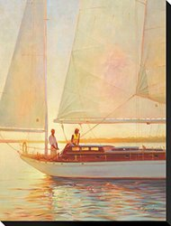 """Shimmering Moment by Brent Lynch Stretched Canvas Print 29"""" H x 22"""" W"""