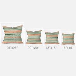 DENY Designs Gabriela Larios Prado Outdoor Throw Pillow, 18 x 18