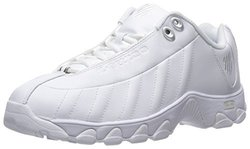 K-Swiss Women's ST329 CMF Training Shoe - White/Silver - Size: 8.5