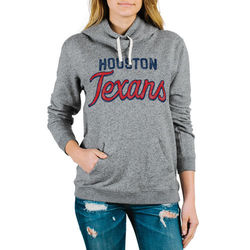 NFL Houston Texans Womens' Sunday Hoody - Medium Heather - Size: Small
