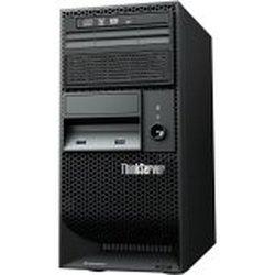 Lenovo ThinkServer TS140 70A4001NUX 5U Tower Server - 1 x Intel Xeon E3-1275 v3 3.5GHz - 1 Processor Support - 4 GB Standard/32 GB Maximum RAM - Serial ATA/600 RAID Supported Controller - Gigabit Ethernet - RAID Level: 0, 1, 1+0, 5 - 280 W