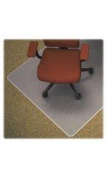 """Medium Pile Chair Mat 36"""" x 48 green"""