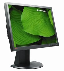 "Lenovo - ThinkVision 24"" LED HD Monitor black"