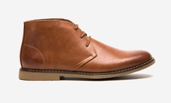 Oak & Rush PU Chukka Boot - Tan - Size: 9
