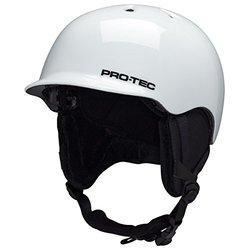 Pro Tec Riot Ski Helmet Snow Gloss - White - Size: X-Large