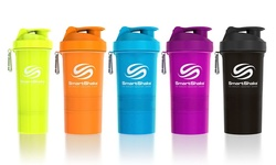 Smartshake Blender Bottle - Original/Neon Blue (2-Pack)