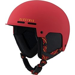 Electric Adult Saint Helmet, Large, Matte Red/Yellow