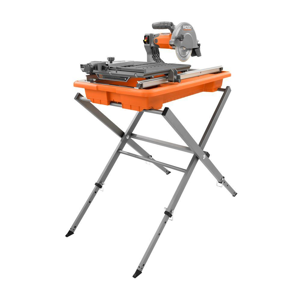 Ridgid 7 Inch Job Site Wet Tile Saw With Stand R4030s Check Back Soon Blinq