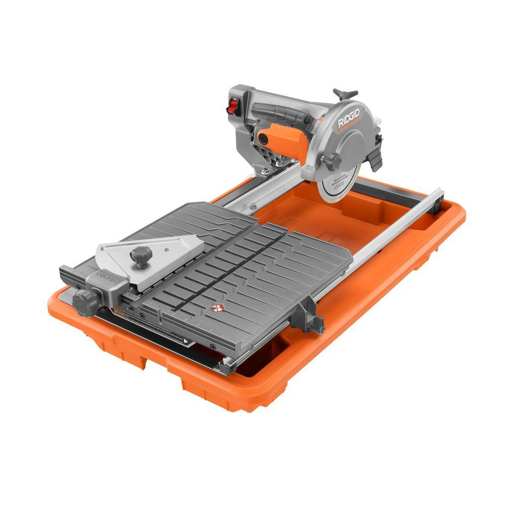 Ridgid 7 Inch Job Site Wet Tile Saw With Stand R4030s Check Back