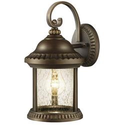HDC GEM1689AS-2 Cambridge Wall-Outdoor Small Lantern - Essex Bronze