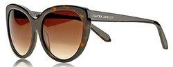 Laura Ashley Ladies Classic Cat Eye Sunglasses: Tortoise/LASG1109TOR
