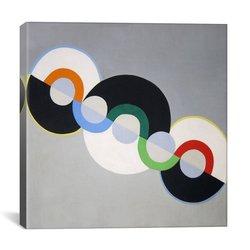 """ICanvas Art Endless Rhythm Canvas Art Print - 18"""" x 18"""""""