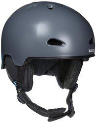 Pro Tec Commander Helmet - Snow Grey - Size: Large