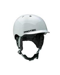 Pro Tec Riot Helmet - Snow Gloss White - Size: Medium