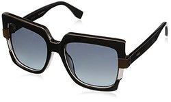 Retro 54MM Square Sunglasses