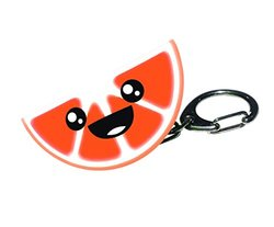 Gift Republic Citrus Light Up Keychain - Orange