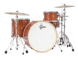 "Gretsch Drums Catalina Club - 24"" Bass - Satin Walnut Glaze"