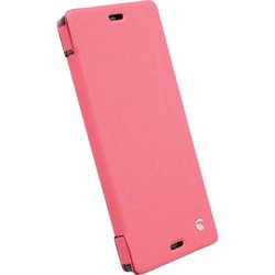 Krusell Malmo Flip Case for Xperia Z3 - Pink (75942)