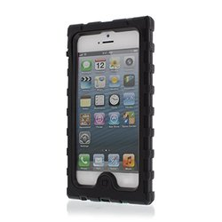 Hard Candy Shockdrop Case for iPhone 5 (Black/Grey)