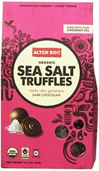 Alter Eco Organic Gluten Free Sea Salt Truffles
