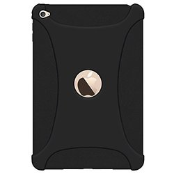 Amzer Silicone Skin Jelly Case for iPad mini 4 - Black
