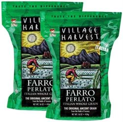 Village Harvest Whole Grain, Faro Perlato Italian, 16 Ounce (pack Of 6)