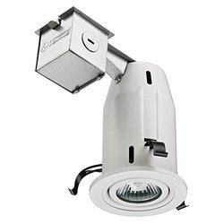 """Lithonia Lighting LK3BMW 3"""" GU10 Recessed Baffle Kit -Matte White (199U0R)"""