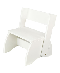 KidKraft Kids Perfect Flip Stool - White