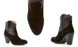 Desigual Eva Women's Ankle Boots - Negro - Size: 38