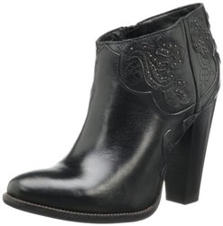 Diesel Women's Girl On Tex Guadalupy Boots - Black - Size: 8.5