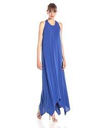 Rachel Zoe Women's Athena Halter Maxi Dress - Marrakesh Blue - Size: S