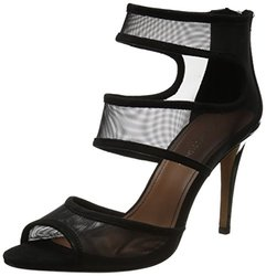 Donald J Pliner Women's Adelle M3 Dress Sandals - Black Mesh - Size: 9.5M