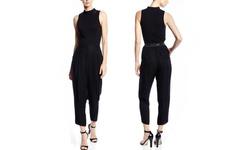 Catherine Malandrino Women's Dora Harem Pants - Noir - Size: 2