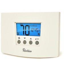 Robertshaw Digital Programmable Thermostat Heat Pump - 1 Heat/1 Cool