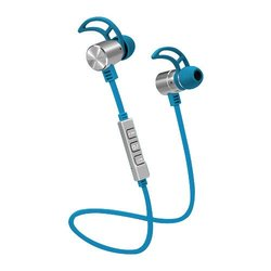 POM Pro2Go ONE Wireless Bluetooth 4 1 Earbud- Blue