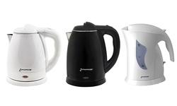 Electric Tea Kettle: Gf-p1371-860-1.5 Liter Black/stainless Steel Interior