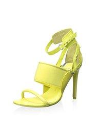 Dolce Vita Women's Halton Heel Sandal - Chartreuse - Size: 8