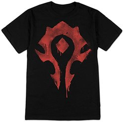 World of Warcraft - Horde Spray T-Shirt -  Size: Small