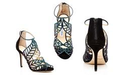Jimmy Choo Women's Kaci Heel Sandals - Blue - Size: 37