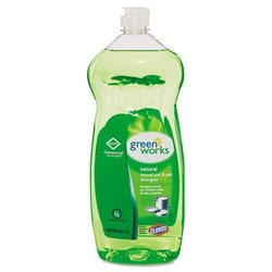 Clorox Green Works Pot & Pan Detergent Natural Scent 32-oz. Case 8