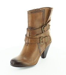 Arturo Chiang Women's Velma Vintage Dress Boot - Cognac - Size: 6